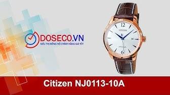 [Góc Review nhanh] #1074: Citizen NJ0113-10A
