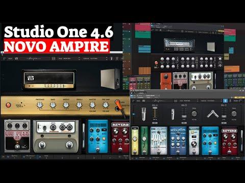 Studio One 4.6 AMPIRE - Amps e Caixas para Guitarra e Contrabaixo