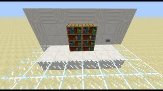 [+uma] Staircase Hidden Behind A Bookcase [minecraft 1.7+]