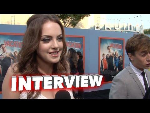 Vacation: Elizabeth Gillies Exclusive Premiere Interview