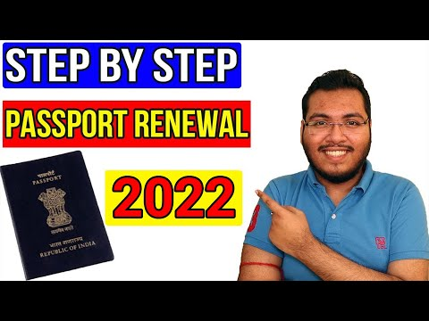 How To Renew Indian Passport Online 2021 | Passport Kaise Renew Kare | Passport Renewal Procedure