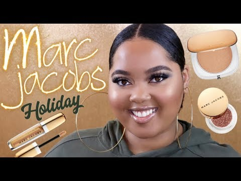 Marc Jacobs Holiday 2018 Collection Review + Swatches + Tutorial