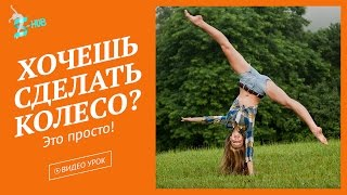 Акробатика для начинающих! Как научиться делать колесо для начинающих дома? S-HUB c Лизой Андреевой