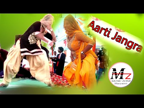 Miss Aarti Jangra Live Jagran Baba Manghalgeri Dhaam Sarsana// Music Zone  2018//