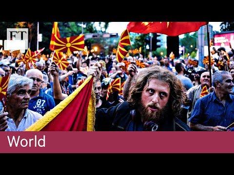 Macedonia looks at provisional name change