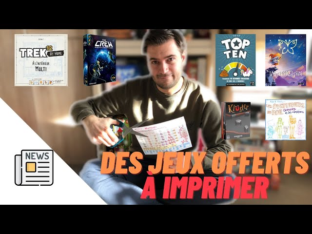 Les print and play OFFERTS pour le RECONFINEMENT - Les print and play 2 - Jutinforme #13