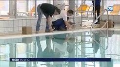 Le centre aquatique de Louviers (Eure)