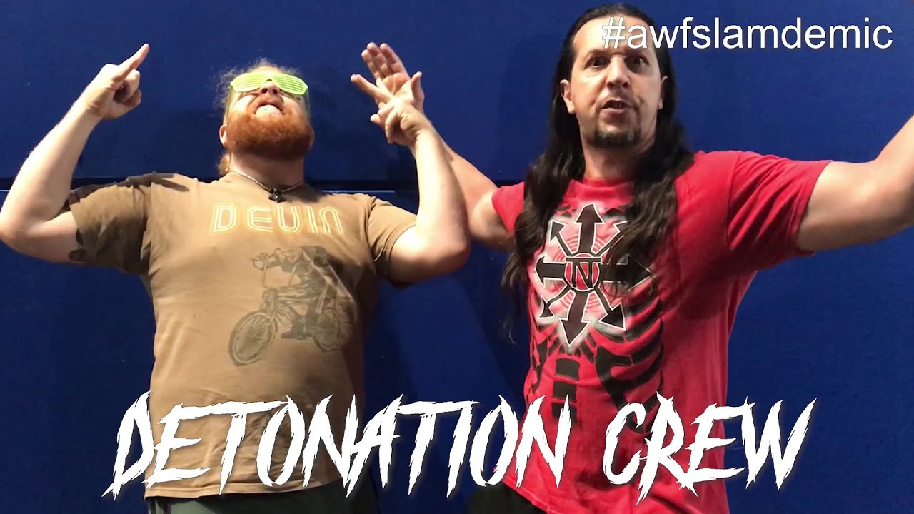 Detonation Crew accept a fight with TATS at AWF Pro-Wrestling Slamdemic