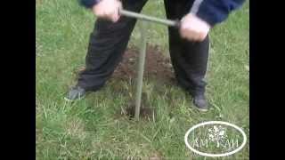 Бур ручной садовый для бурения скважин своими руками шнековый ямобур 110мм и 210мм(, 2015-04-19T20:50:48.000Z)