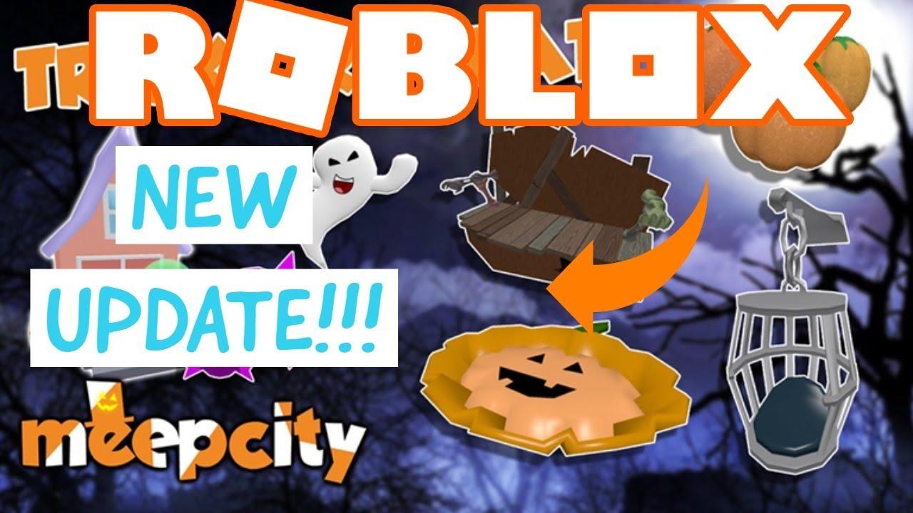 Roblox Meepcity Halloween Update How To Get Triple Candy
