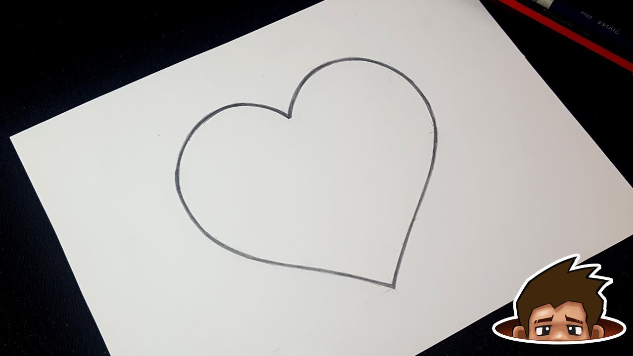 How to Draw a Perfect Heart / Super Easy Step by Step ...
