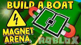 'INSANE' MAGNET ARENA dans Construire un bateau! ⚡ Roblox