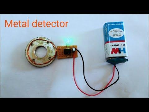 Make a Simple Metal Detector || sk creatives