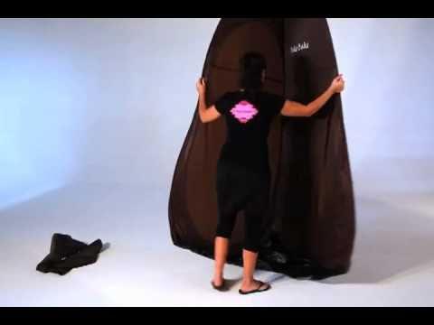 & Fake Bake Tent - YouTube