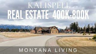 Kalispell Montana Real Estate - Homes between $400,000-$800,000 in 2021