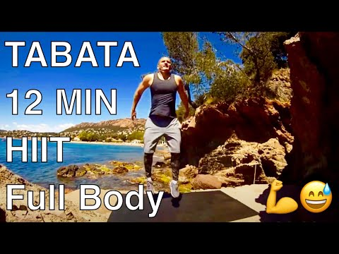 Tabata full body workout 12 min / Interval training motivation