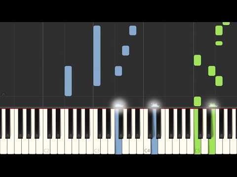 Bad Wolves - Zombie - Piano Cover Tutorial (Synthesia)
