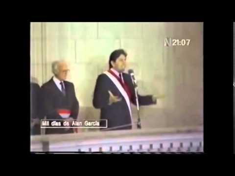 Balconazo de Alan García 1987