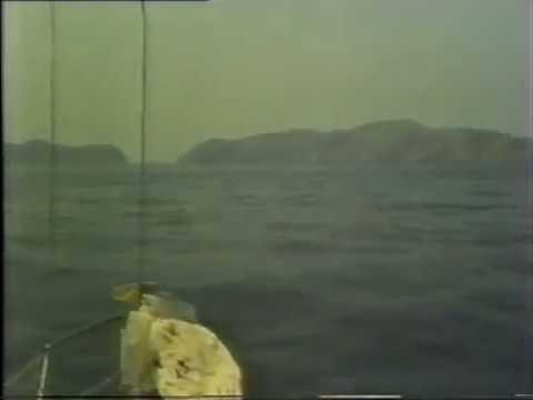 S/Y AKUWAIT. 9K-IZ entering Hormouz to the Arabian  Gulf وصول و دخول مضيق هرمز بالتفصيل