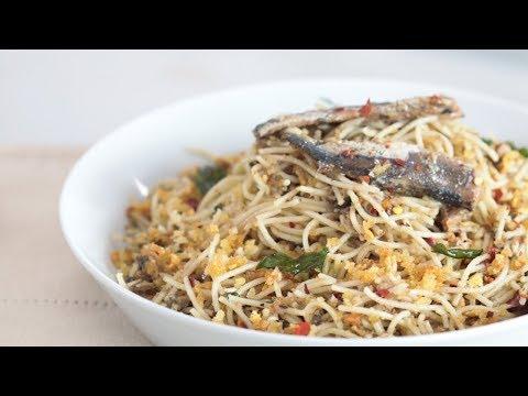 Garlic Pasta With Spanish Sardines Recipe | Yummy Ph