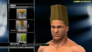 WWE 2K15: Create A Superstar Complete Showoff - HEAD Section - (Hair, Faces, Scars & Marks)