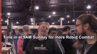 SparkFun AVC 2017 Robot Combat DAY ONE thumbnail