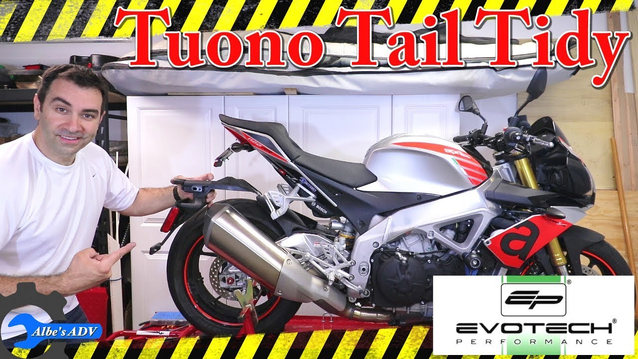 Evotech Performance Aprilia RSV4 RR RF Tail Tidy