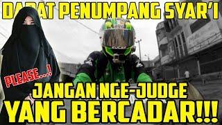 Bawa Penumpang SYAR'I Naik Motor Sport | Bro Omen