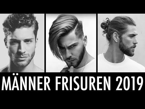 Mannerfrisuren 2019 Die Frisuren Trends Fur Manner Youtube