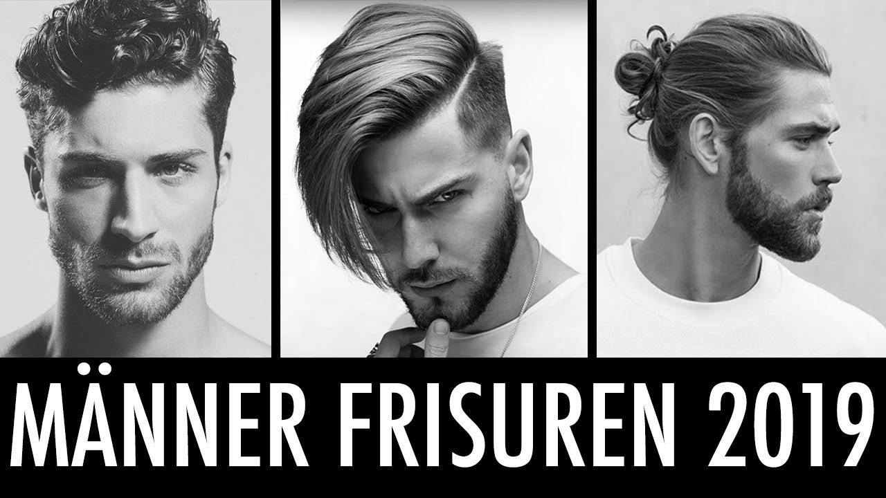 Mannerfrisuren 2019 Die Frisuren Trends Fur Manner Youtube