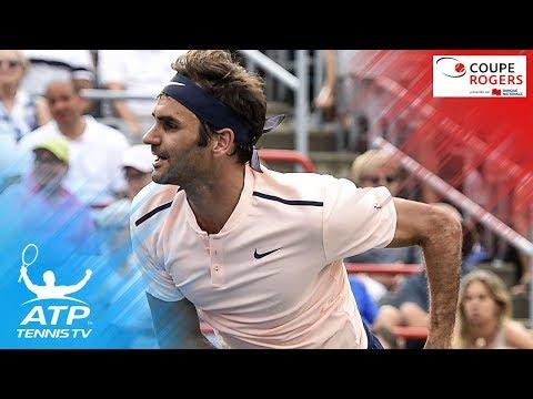Shapovalov upsets Nadal; Federer, Zverev through | Coupe Rogers Montreal 2017 Highlights Day 4