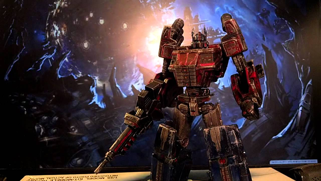 Fall Of Cybertron Wallpaper Transformers Fall Of Cybertron Optimus Prime Custom By Ed