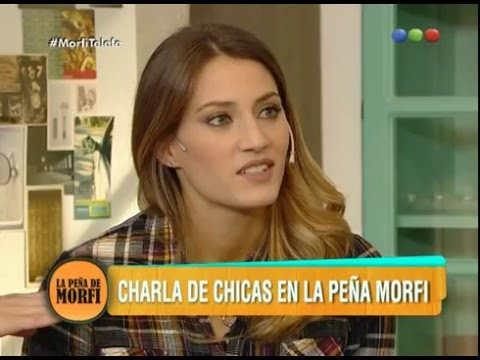 Charla de chicas: Mica Viciconte, Flor Ventura y Erica Mitdank - Morfi