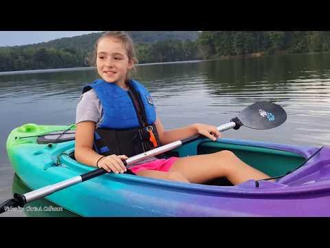 Jessica's First Kayak