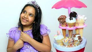 जब शफा ने खोली अपनी आइसक्रीम की दुकान । मज़ेदार कहानियाँ  가 아이스크림 가게를 열었을 때
