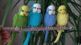 Вязаные игрушки  Птицы своими руками