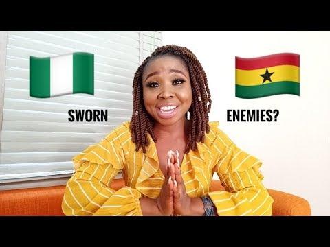 FIGHT BETWEEN NIGERIANS AND GHANAIANS IS AN INTERNET LOVE AFFAIR