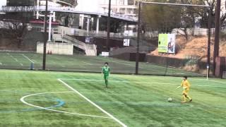 20160313  関東リーグ(U-15)東京ヴェルディJY VS FC東京U-15むさし