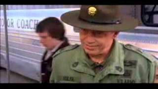 John Candy calls Captain Stillman Eisenhower.