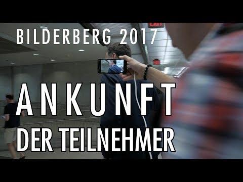 Ankunft der Teilnehmer   Bilderberg 2017