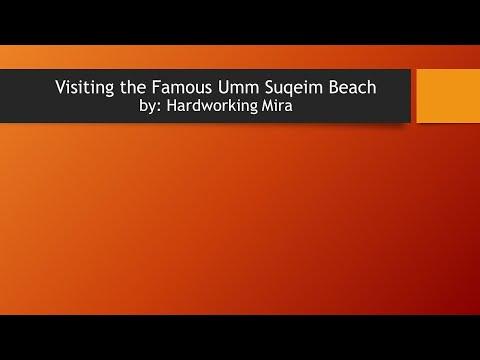Burj Al Arab road trip, visiting the Famous Umm Suqeim Beach