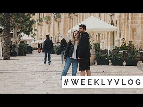 #weeklyvlog || 16 Apr. - 22 Apr. || Ziua mea in Malta