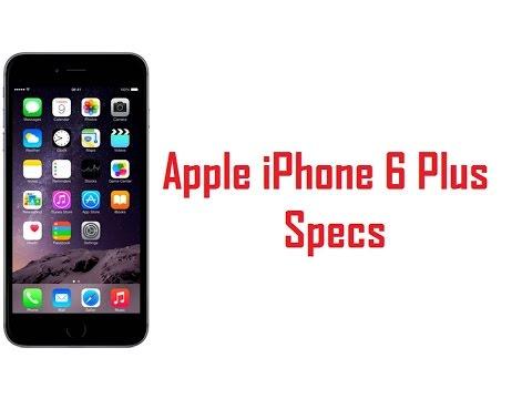 Apple iPhone 6 Plus Specs & Features