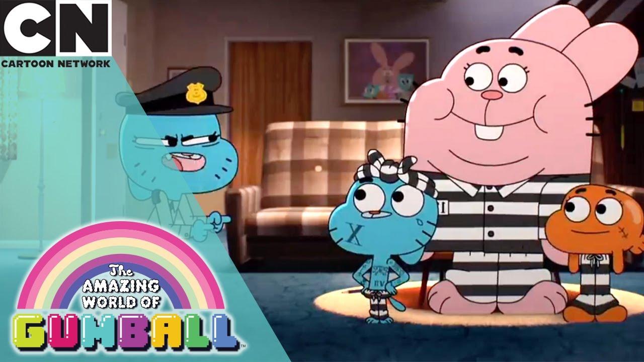 The Amazing World of Gumball    Going to Jail   Cartoon Network UK 🇬🇧