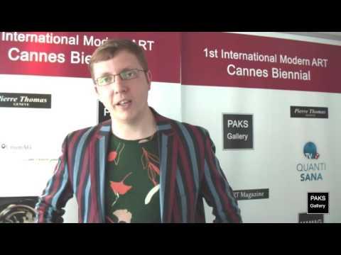Interview with artist Maksim Kuznetcov - International Modern Art Cannes Biennial