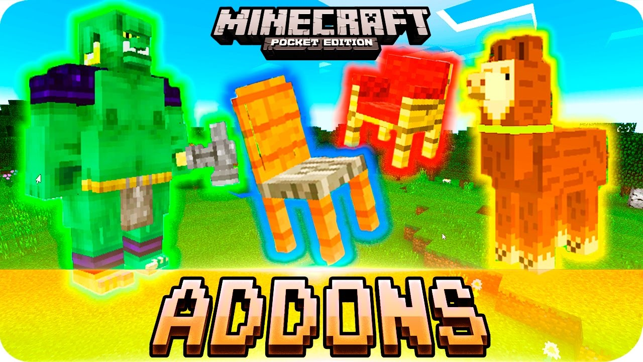 Minecraft PE 0 16 0 Addons - TOP 5 BEST Small ADDONS with Download! iOS &  Android MCPE 0 16 0