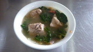 Filipino Pork Sinigang Tamarind Soup