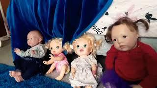 Lillian the reborn made new friends at preschool