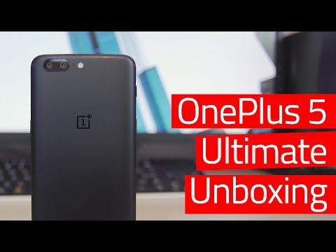 Unboxing the OnePlus 5!