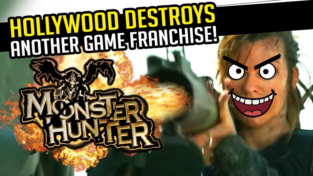 The Monster Hunter Movie Looks Like Trash Youtube